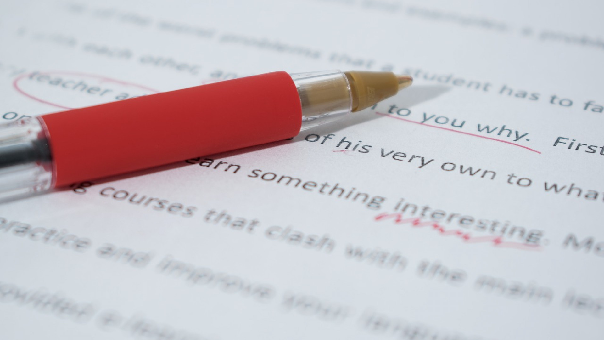 Pourquoi suivre une formation en orthographe